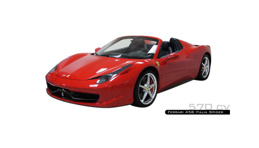 location ferrari 458 italia spider prestige car louer et conduire ferrari 458 italia spider. Black Bedroom Furniture Sets. Home Design Ideas